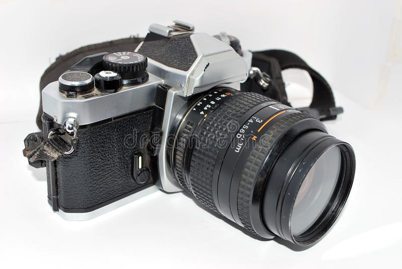 Macchina fotografica Analog fotografia stock