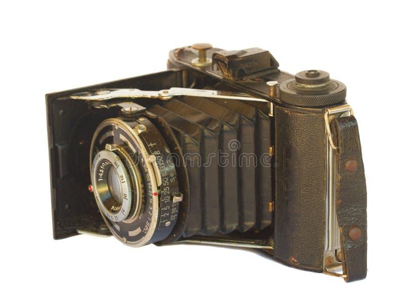 Macchina fotografica antica della foto fotografie stock