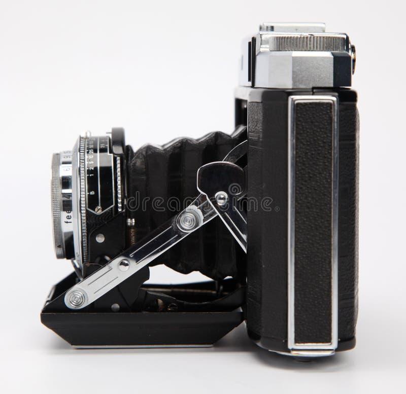 Macchina fotografica antica della pellicola fotografie stock
