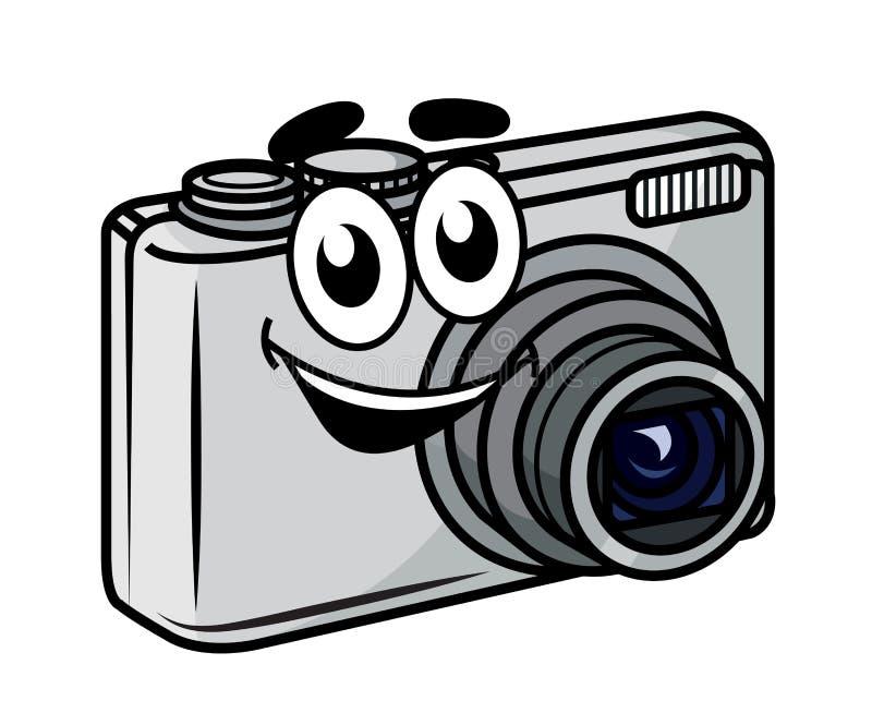 Macchina fotografica compatta del piccolo fumetto sveglio for Macchina fotografica compatta