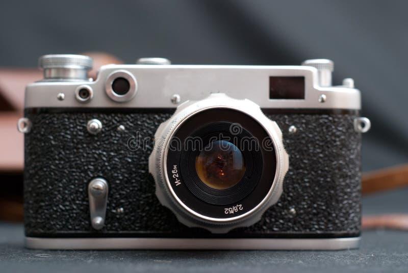 Macchina fotografica d'annata fotografia stock libera da diritti