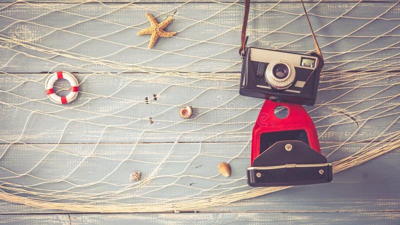 Macchina fotografica d'annata della foto fotografie stock