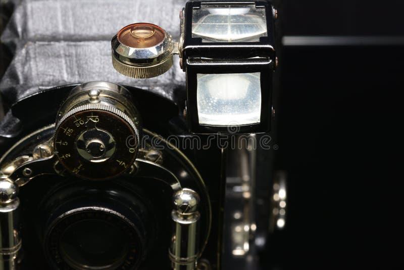 Macchina fotografica d'annata Ernemann fotografia stock