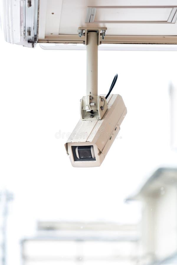 Macchina fotografica del CCTV immagine stock libera da diritti