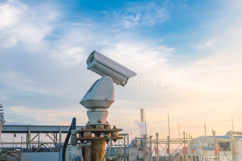Macchina fotografica del CCTV fotografie stock