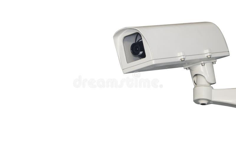 Macchina fotografica del CCTV di sorveglianza immagini stock