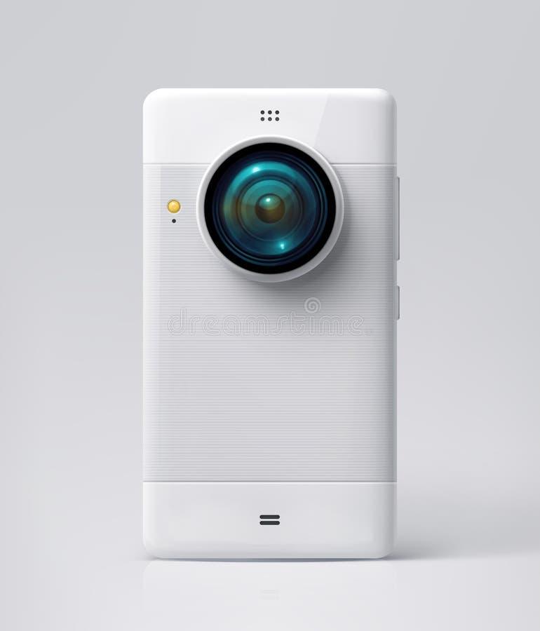 Macchina fotografica del telefono cellulare illustrazione vettoriale