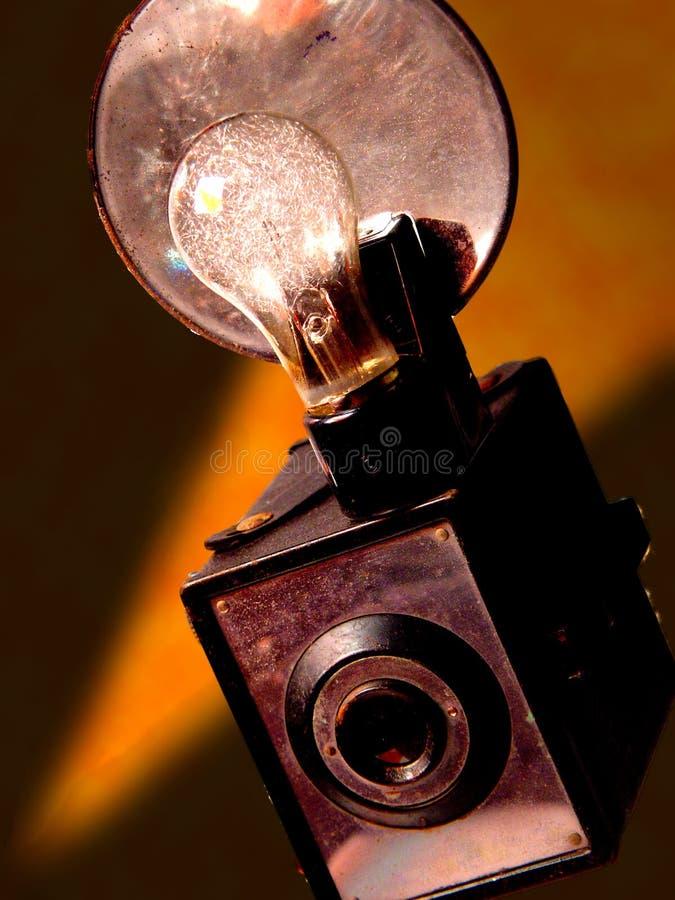Macchina fotografica dell'annata fotografia stock