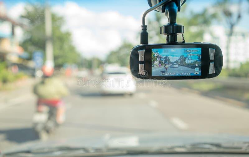 Macchina fotografica dell'automobile per sicurezza fotografia stock