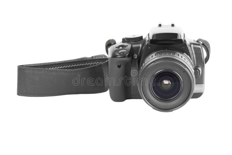 Macchina fotografica della foto con la cinghia fotografia stock libera da diritti