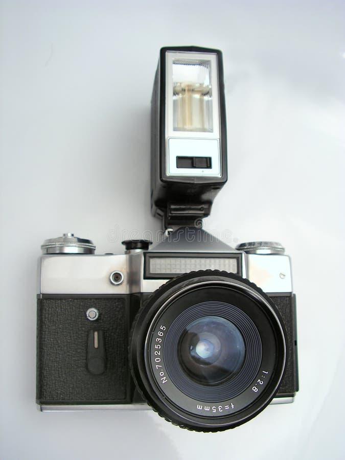 Macchina fotografica della foto della pellicola immagine stock