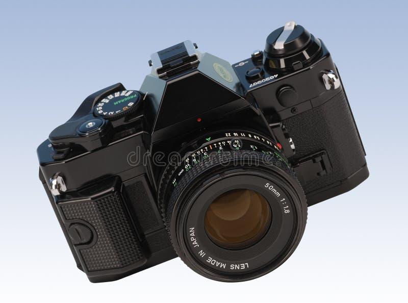 Macchina fotografica della pellicola immagine stock