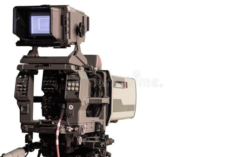 Macchina fotografica dello studio della TV fotografie stock libere da diritti