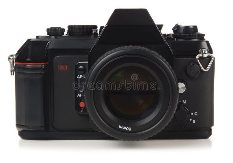macchina fotografica di 35mm SLR immagini stock