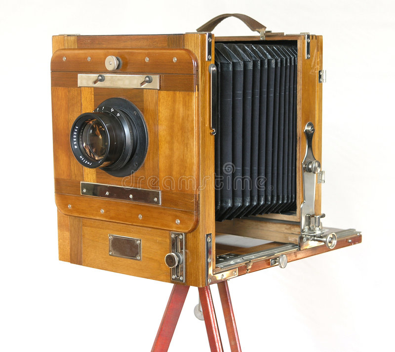 Macchina fotografica di casella fotografie stock libere da diritti