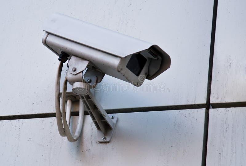 Macchina fotografica di controllo esterno immagini stock libere da diritti