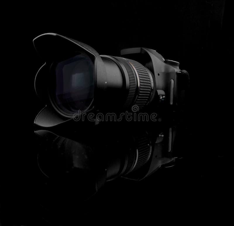 Macchina fotografica di Digitahi (SLR) fotografie stock libere da diritti