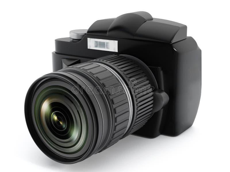 Macchina fotografica di Digital SLR fotografia stock