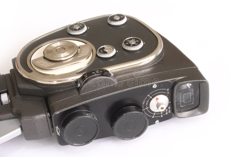 Macchina fotografica di film fotografia stock libera da diritti