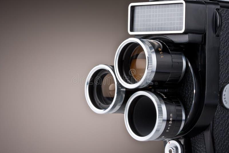 Macchina fotografica di film dell'annata fotografie stock libere da diritti