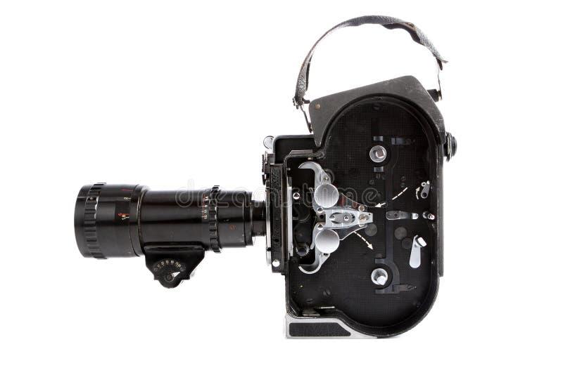 macchina fotografica di film di 16mm immagini stock libere da diritti