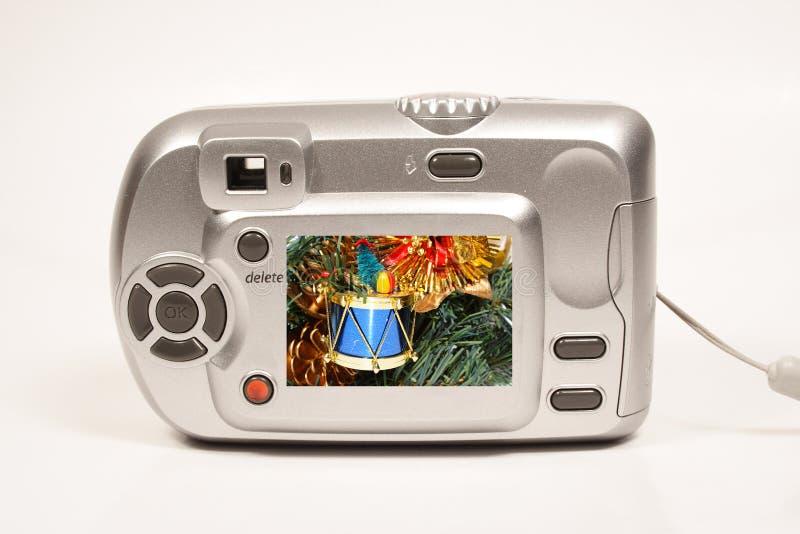 Macchina fotografica di natale fotografia stock libera da diritti