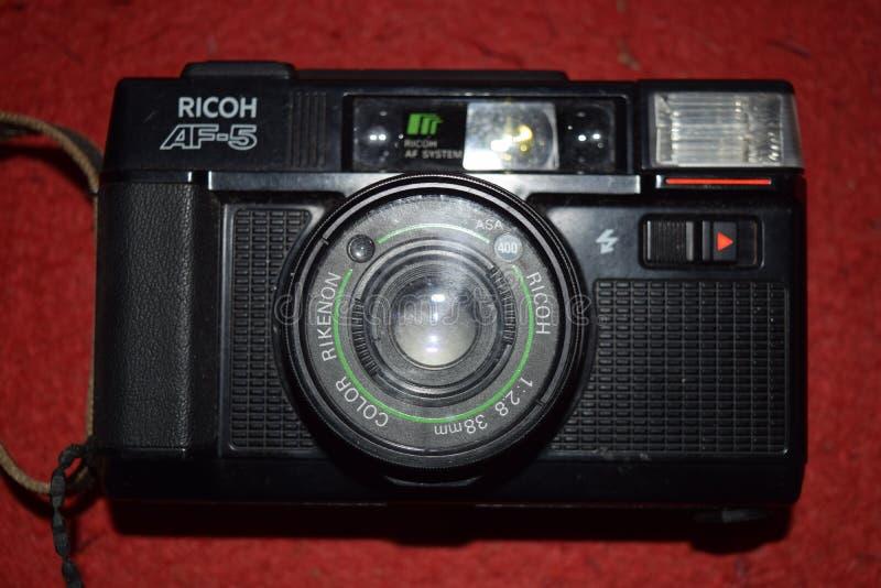 Macchina fotografica di RICOH AF-5 fotografie stock libere da diritti