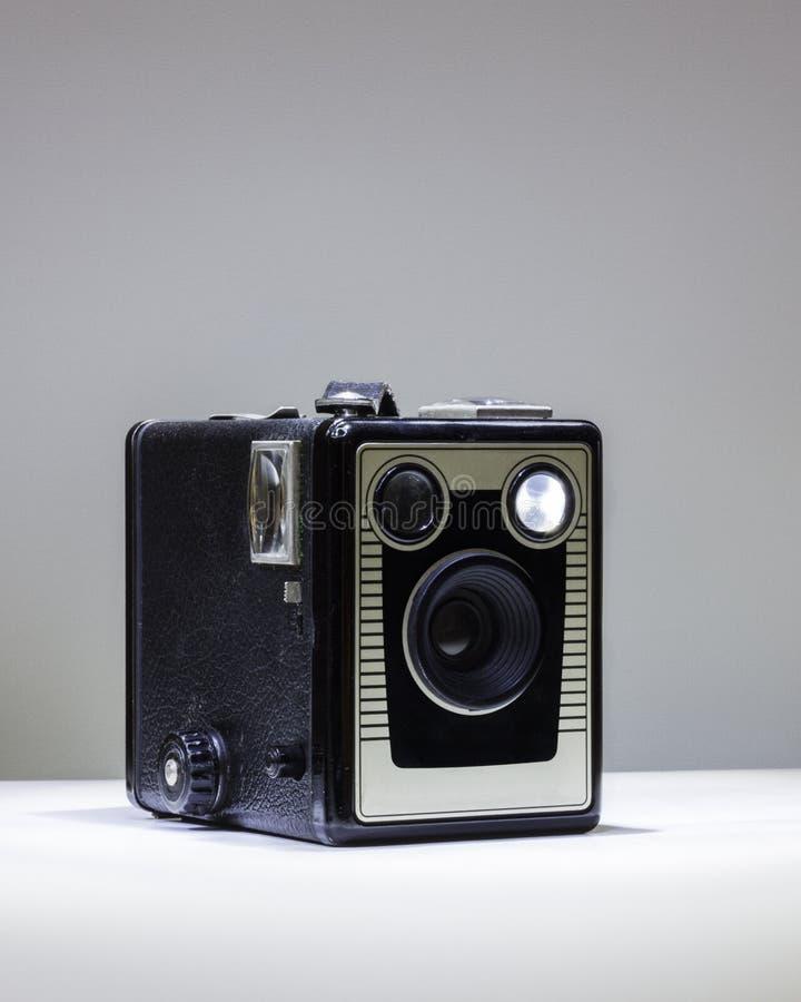 Macchina fotografica di scatola classica immagine stock libera da diritti