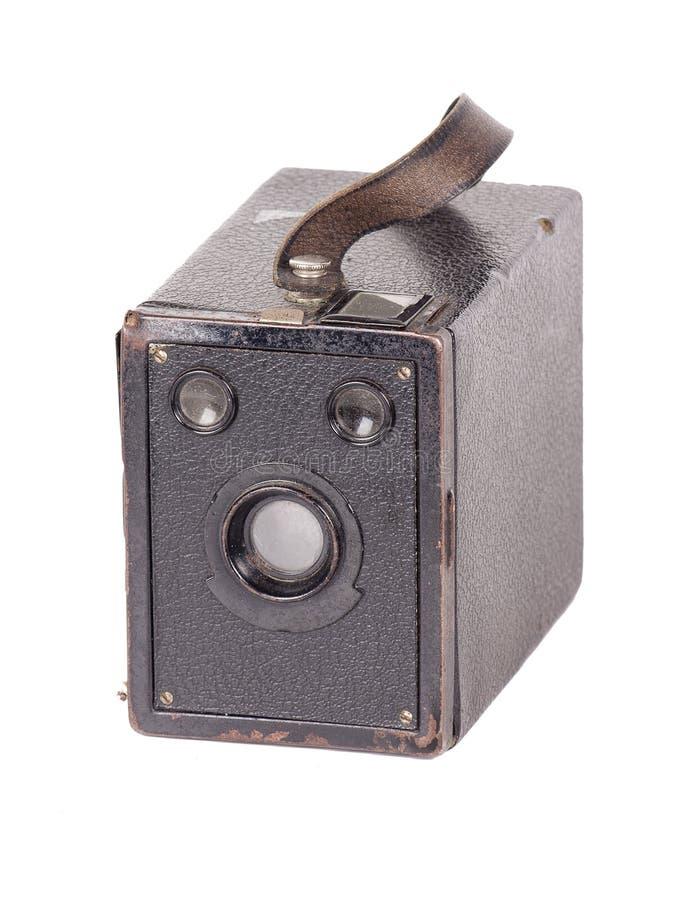 Macchina fotografica di scatola d'annata fotografia stock libera da diritti
