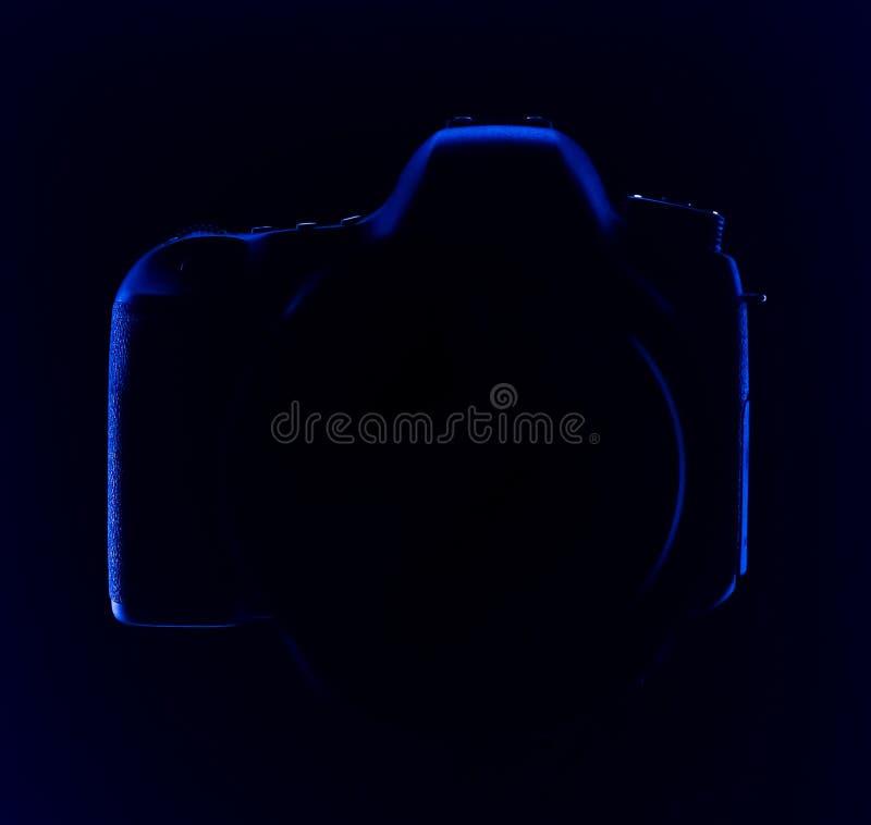 Macchina fotografica digitale di SLR fotografia stock