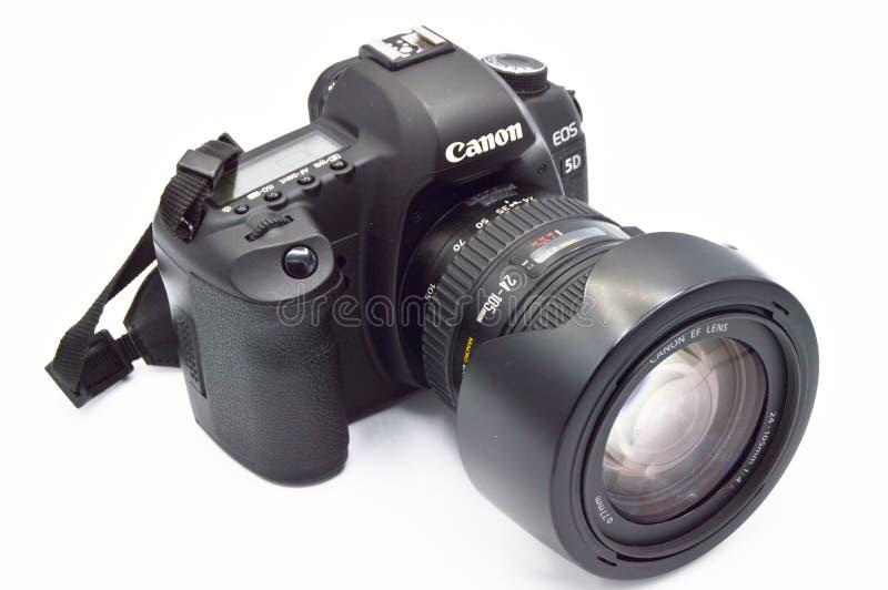 Macchina fotografica digitale di SLR del corpo del segno II di EOS 5D di Canon fotografia stock