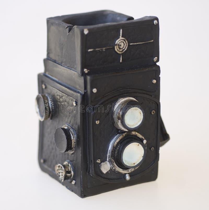 Macchina fotografica iconica d'annata fotografia stock