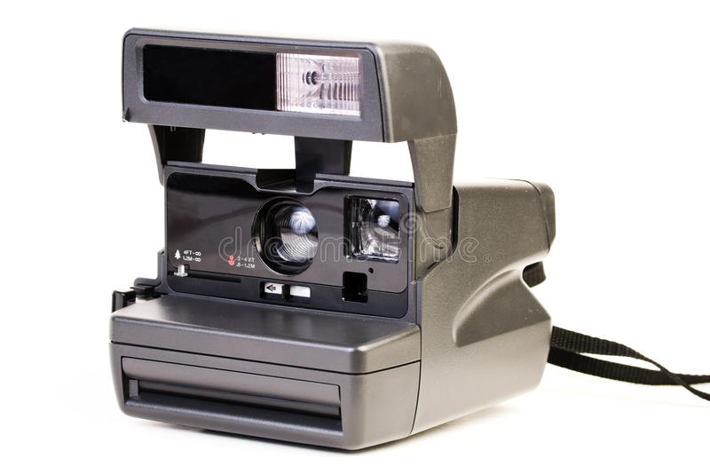 Macchina fotografica istante del Polaroid fotografia stock