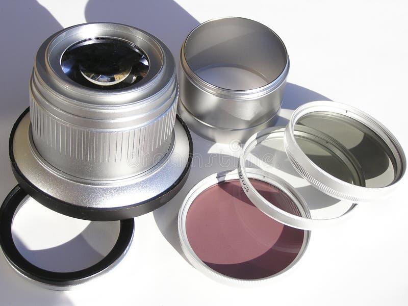 Macchina fotografica lens2 fotografie stock