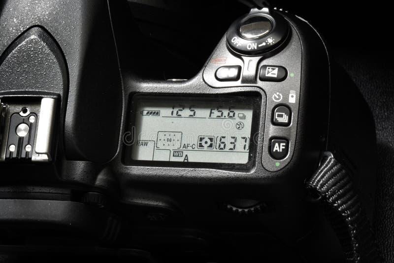 Macchina fotografica per i quadranti di comandi di fotografia digitale fotografia stock