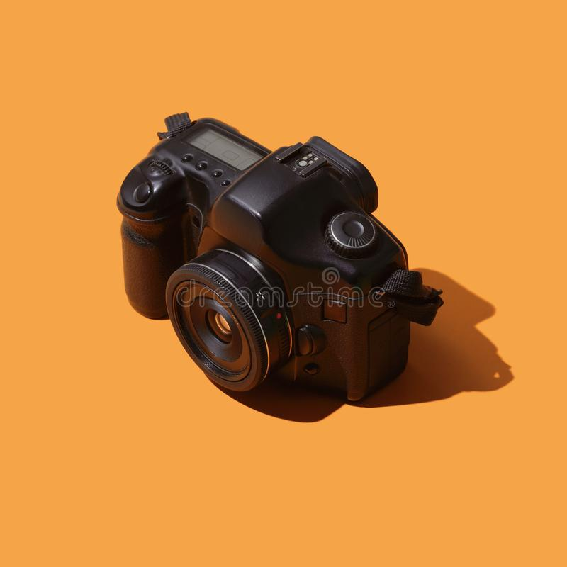 Macchina fotografica reflex digitale professionale fotografie stock