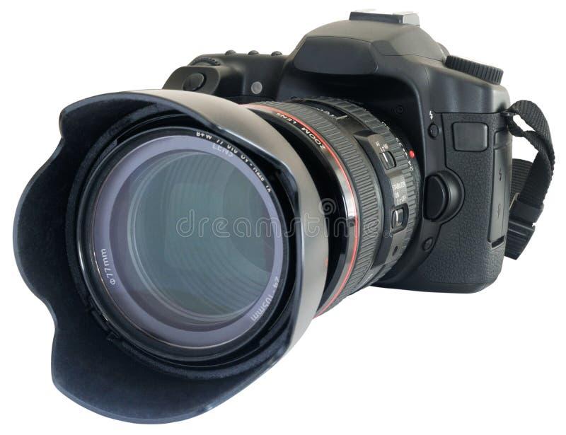 Macchina fotografica reflex moderna immagini stock