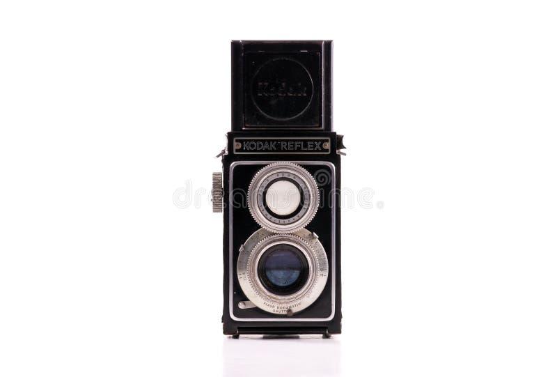Macchina fotografica riflessa della pellicola della Kodak immagine stock libera da diritti
