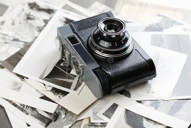 Macchina fotografica russa fotografia stock libera da diritti