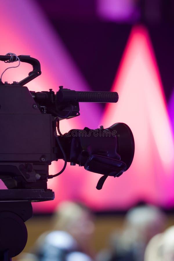 Macchina fotografica su priorità bassa astratta fotografie stock
