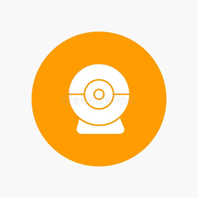 Macchina fotografica, webcam, sicurezza illustrazione vettoriale