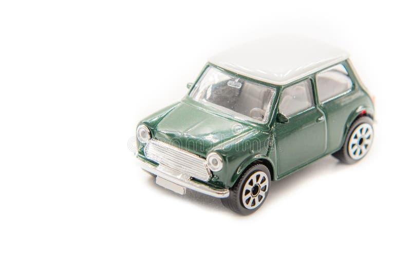 Macchina giocattolo mini-cooper immagine stock libera da diritti