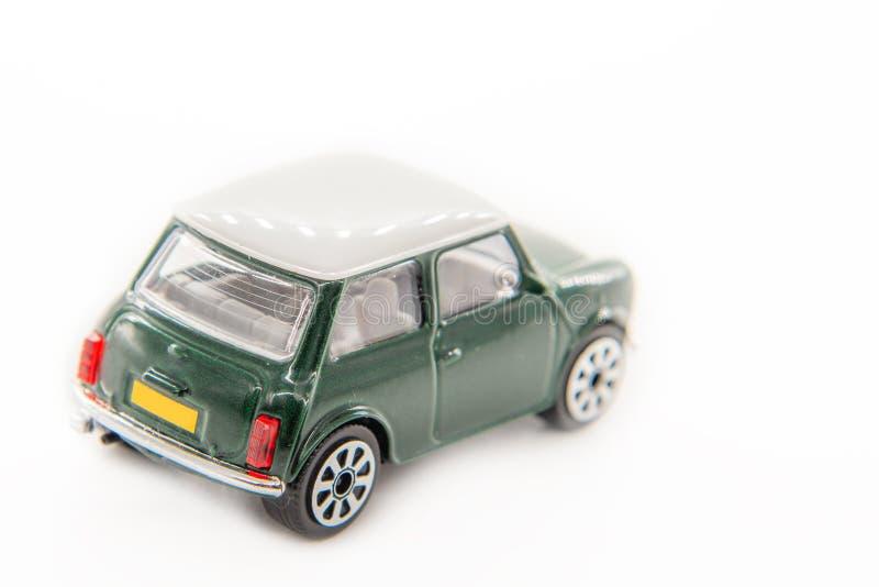 Macchina giocattolo mini-cooper immagine stock