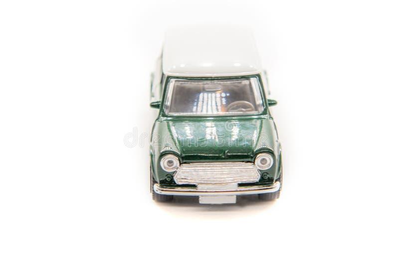 Macchina giocattolo mini-cooper fotografia stock