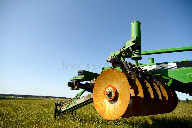 Macchinario di agricoltura fotografie stock
