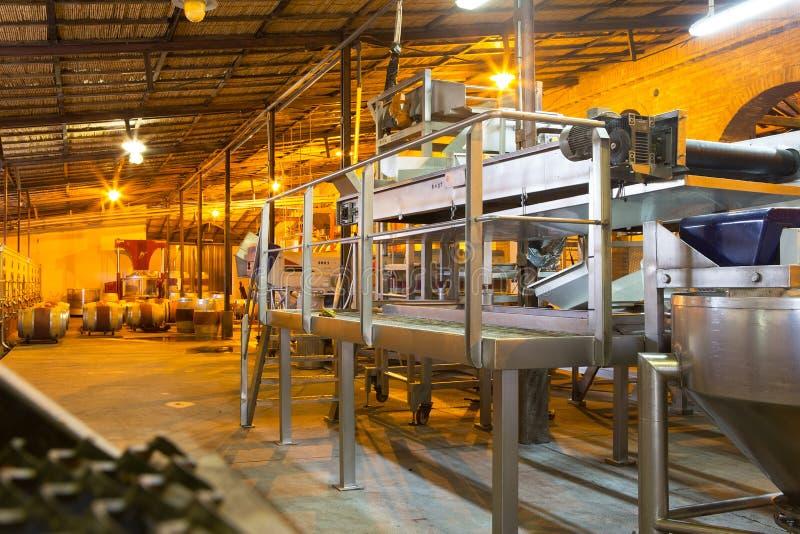 Macchinario di produzione vinicola, Mendoza fotografie stock libere da diritti