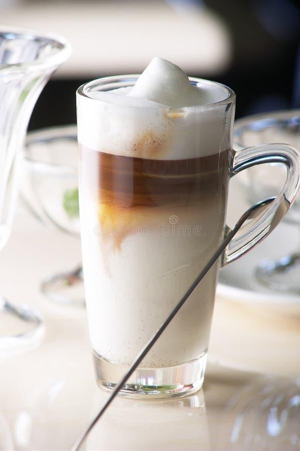 Macchinato del latte del caffè immagine stock libera da diritti