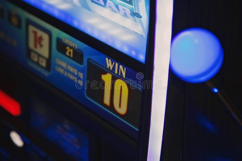 Macchine di gioco del casinò a Las Vegas immagini stock
