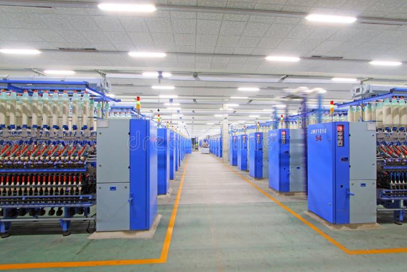 Macchine ed impianti di filatura della pianta fotografie stock libere da diritti