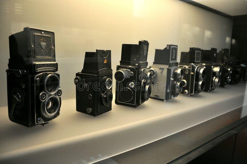 Macchine fotografiche antiche immagini stock libere da diritti